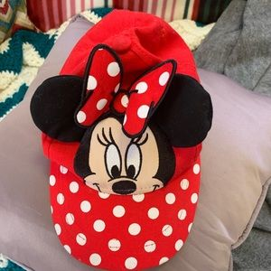 Adorable Girls  Disney Minnie Mouse Hat